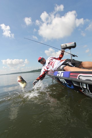 Jeremy Utley-professional angler and Hammer Rods Pro Staff