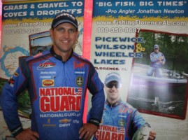 FLW National Guard Professional Angler Johnathan Newton