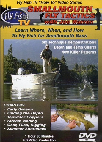 Smallmouth Fly Tactics with Joe Warren