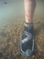 Underwater photo of the Sperry Top-Sider Men's SON-R Bearing Bootie Mid