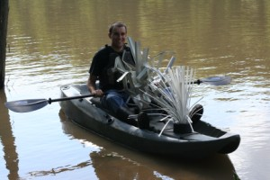 Fishiding fish attractors easly fit in to a boat to be place in your pond or lake.