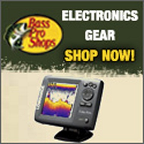Electronics on sale at Bass Pro Shop