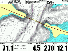 Humminbird map offset 1