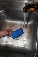 Testing LifeProof case under water