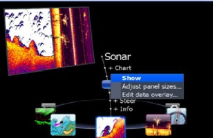 Doc Sonar Main Menu Lowrance HDS unit