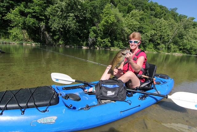 Fishing and Floating Crooked Creek in Arkansas