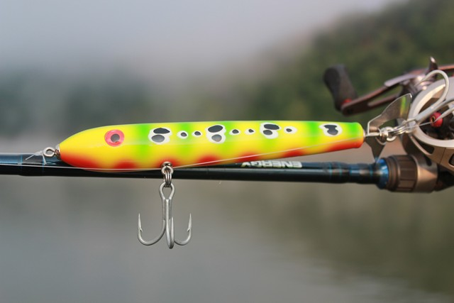 Articles and Photos about Hand Crafted Fishing Lures by Brad