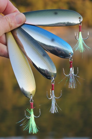 Talon Fishing Big Dandy Custom Flutter Spoon