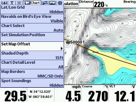 Setting your Humminbird GPS Map Offset