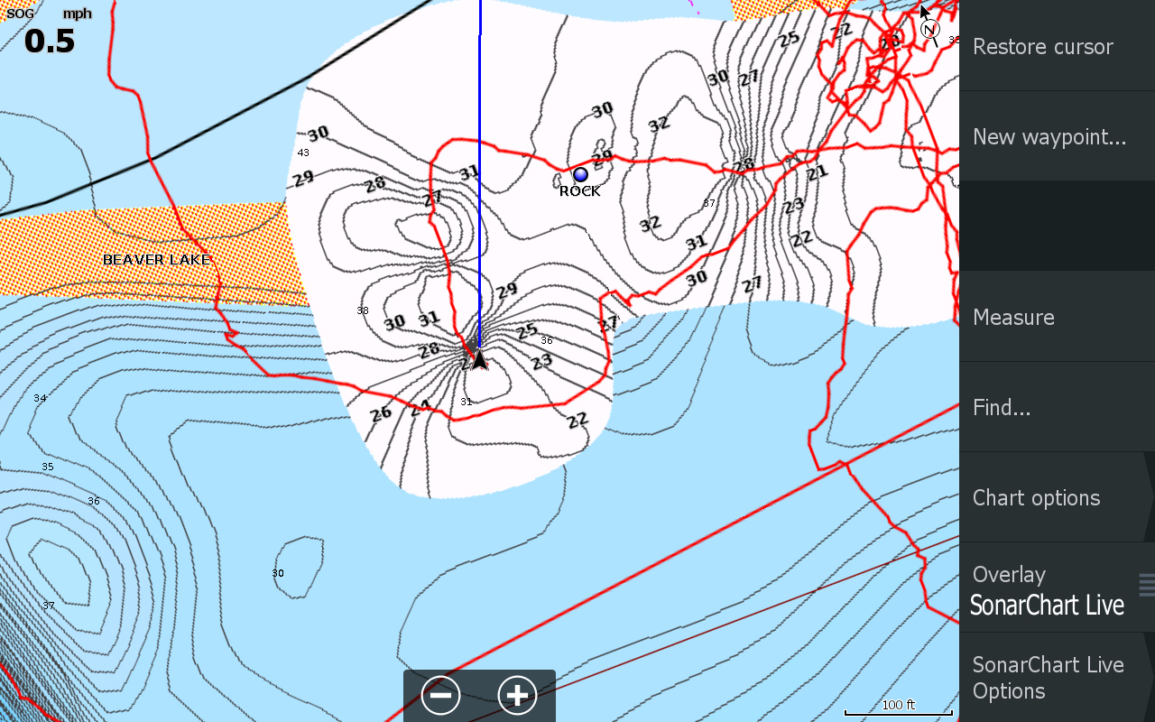 Sonar GPS Structure Scan And Mapping Software Information - Lake mapping software